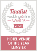 Finalist Wedding Online Awards 2020 - Hotel Venue Of The Year Leinster